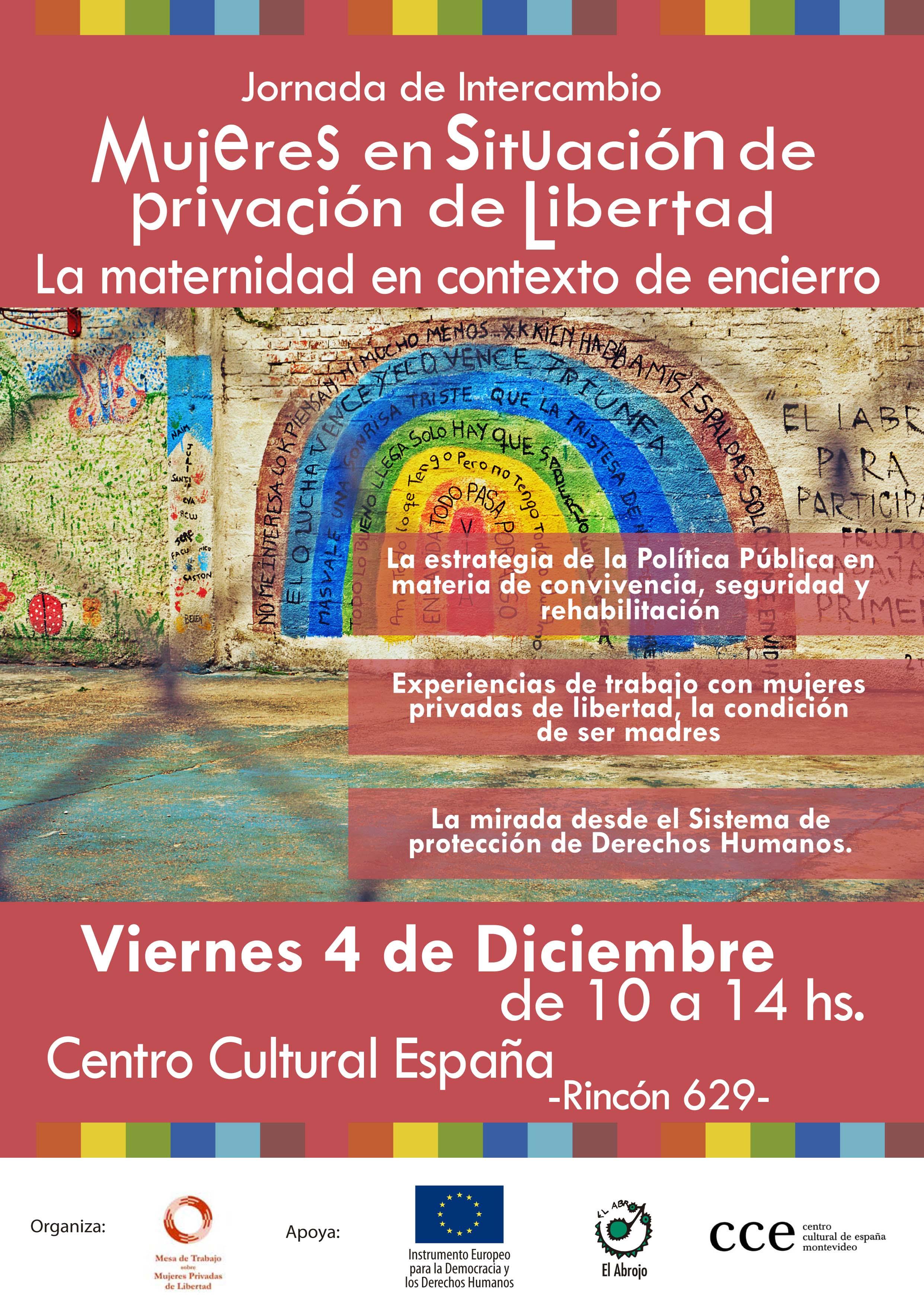 afiche Mujeres Privadas de Libertad - Maternidad